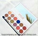 El cosmético más nuevo de Kylie la gama de colores real del sombreador de ojos de los colores de Kylie 12 de la gama de colores del melocotón
