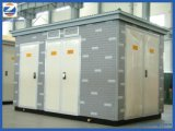Sottostazione elettrica di tipo europea a bagno d'olio a tre fasi del trasformatore