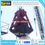 25 gru a benna di dragaggio della copertura superiore della corda di tonnellata due di tonnellata 125, draga subacquea