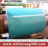 Bobina di alluminio ricoperta colore con colore di Variou