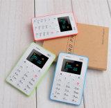 Reservezeit 4 Tage, nur 28g Pocket Mobiltelefon M5, Karten-Handy auf Verkauf