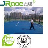 El deporte al aire libre del tenis de la PU del silicio de la alta calidad corteja la máquina de alisar o cepillar