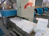 Máquina plegable doble automática llena del papel de tejido de la servilleta que graba