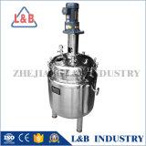 Réservoir de mélange revêtu d'acier inoxydable avec l'agitateur