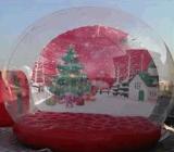Globo gonfiabile della neve di stile popolare per natale