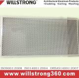Parede de cortina de alumínio Folheado de alumínio