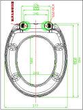 Desserrage rapide de siège des toilettes d'urée de forme de D