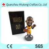 Горячий рисунок баскетболиста смолаы сбывания Bobble головная смолаа Kobe Bobble головка