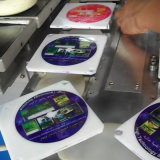 Four Color CD | DVD Pad Printing Machine