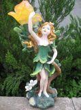 Statua leggiadramente del giardino di Polyresin (SF1153)