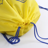 Weiches Material scherzt Sportdrawstring-Rucksack