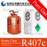 R407c Refrigerant Gas 11.3kg/25lb para Air Conditioning