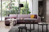 ベッド付きのSize Fabric Sectional Sofa王