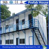 Ambiente amigável pré-fabricado casa de luz estrutura de aço material de construção com preço barato boa qualidade