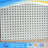 Акустическая Perforated плитка потолка гипса