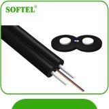 Jupe autosuffisante du câble d'interface de fibre de FTTH G657A Lszh