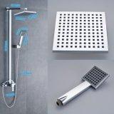 """Badezimmer-Mischer-Dusche-Set mit Dusche Kopf des Quadrat-8 """" und Handdusche-Halter"""