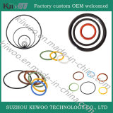 Selo do anel-O da borracha de silicone do produto comestível das peças sobresselentes do silicone