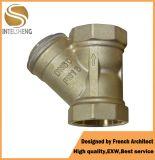 Y-Tipo industrial filtro do filtro do filtro de bronze da câmara de ar