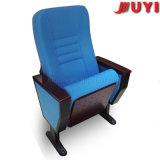 Los precios movibles de Jy-998m que enclavijan los asientos portables de la tela de la cubierta de la silla de la iglesia para el cine tasan la silla del auditorio