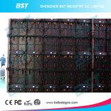 P3.91 P4.81 P5.95 P6.25 definizione della fase LED di 1000mm x di 500 alta del video schermo locativo esterno della parete