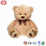 리본을%s 가진 선물 장난감을%s 사랑스러운 테디 푹신한 곰