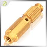 Pieza que trabaja a máquina de cobre amarillo para el interruptor de control industrial
