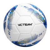 優れたトーナメントの織り目加工の表面PUのサッカーボール