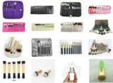 7 PCS 아름다움 모직은 아이섀도 Concealer 장식용 메이크업 솔 세트 7#1 로고 인쇄가 환영받은 적면한다