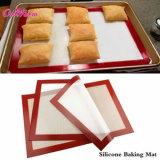 Hochtemperatur widerstehen nicht Stock-Silikon-Ofen-Matte