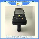 Explorador móvil del código de barras con el apretón de pistola, programa de lectura de RFID