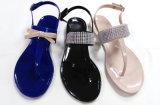 Sandalo Shinning del PVC della cinghia di colore