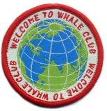 Earth Design Round Shape Clothing Woven Patch