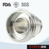 Adaptador sanitário da tubulação da classe do aço inoxidável (JN-FL4001)