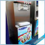 3 congélateurs utilisés de crême glacée de yaourt surgelé de saveurs