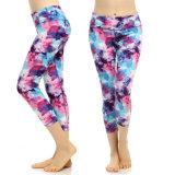 Pantaloni comodi variopinti sexy di yoga delle donne per forma fisica