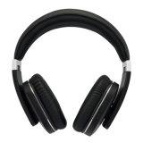 Bluetooth sans fil de haute fidélité V4.0 Tereo sur des écouteurs d'oreille avec MIC - argent