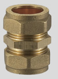 Brass Compression Fitting plaque murale Elbow FXC