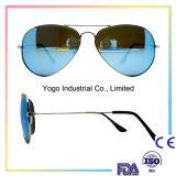 Lunettes de soleil unisexes de créateur de type de lunettes de soleil de lunettes de soleil en métal