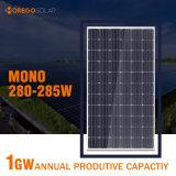 Mono módulo fotovoltaico del producto 280-285W del panel solar de Morego