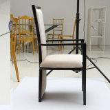 家具を食事するための現代長い背部食堂の椅子