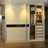 Самым лучшим приспособленный ценой шкаф раздвижной двери высокого лоска серый