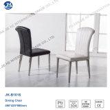 Vente en gros Chaise de salle à manger en acier inoxydable empilable à bas prix