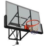 Tablero trasero de baloncesto montado en la pared y aro de baloncesto Blp-W001