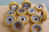 Personalize rolo de PU, rolos de borracha de silicone, rolos Equiv-Pressão, rolo de transporte, rolo de elastômero de poliuretano