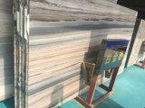 Calificar las líneas losa de mármol blanca de un Special para la decoración casera