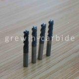Stevig Carbide Endmill 4 de Blauwe Nano Deklaag van Fluiten HRC60
