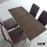 Fester quadratischer Gaststätte-Großhandelsoberflächenkaffeetisch mit Stuhl