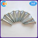 Vite trasversale galvanizzata di punto della testa della vaschetta del acciaio al carbonio con la rondella