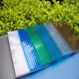 Holle Blad van het Polycarbonaat van de Kleur van de Hars van Lexan het Maagdelijke Materiaal Gerookte voor Winkelcomplex